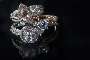 Engagement rings and wedding bands at Heath's Pawn Shop