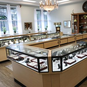 Ellie's jewelry store wide jewelry selection